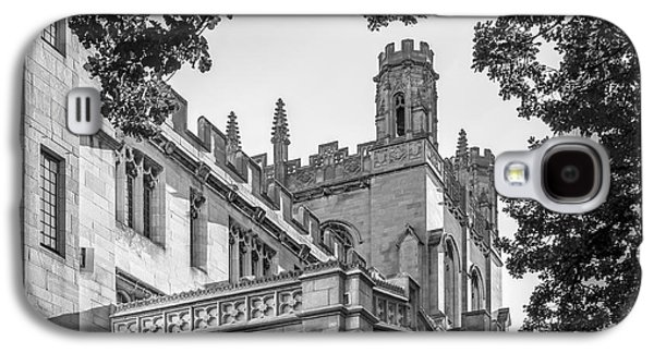 University Of Chicago Collegiate Architecture Galaxy S4 Case by University Icons