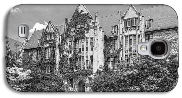 University Of Chicago Eckhart Hall Galaxy S4 Case by University Icons