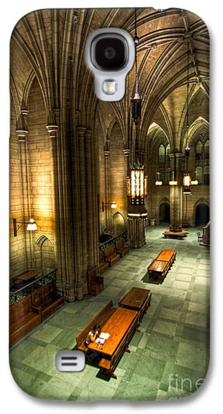 Universities Pyrography Galaxy S4 Cases - University of Pittsburgh Cathedral of Learning Galaxy S4 Case by Amy Cicconi