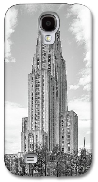 University Of Pittsburgh Cathedral Of Learning Galaxy S4 Case by University Icons