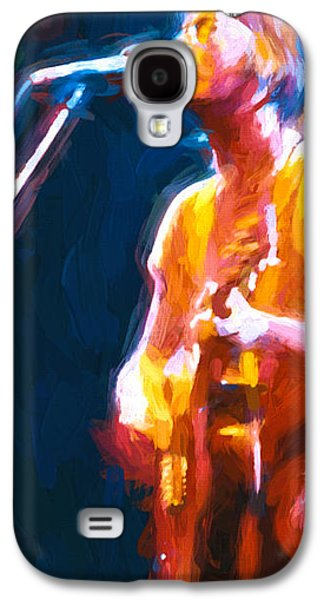 Eric Clapton Galaxy S4 Cases - Unplugged Galaxy S4 Case by Bob Orsillo