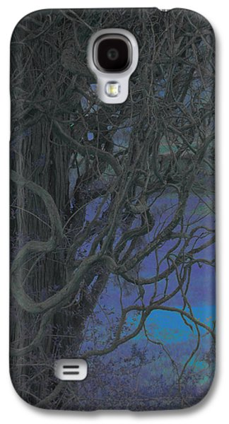 Surreal Landscape Galaxy S4 Cases - Unruly Nature Galaxy S4 Case by Bobbie Barth