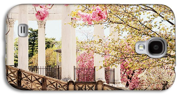 Colum Galaxy S4 Cases - Untermyer Cherry Blossoms Galaxy S4 Case by Jessica Jenney