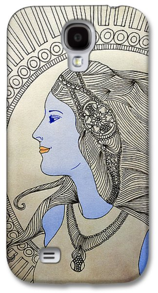 Girl Galaxy S4 Cases - Untitled 18 Galaxy S4 Case by Sreejith V