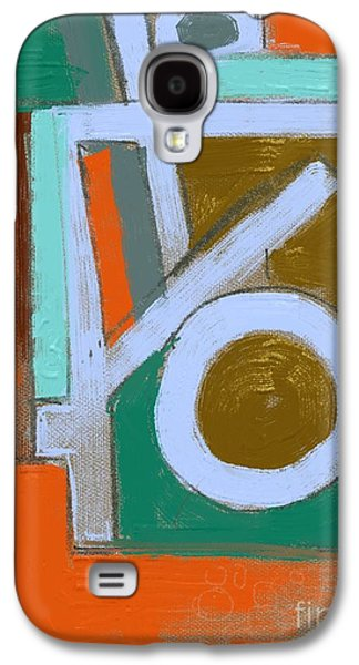 Abstract Digital Paintings Galaxy S4 Cases - Untitled 701 Galaxy S4 Case by Nedunseralathan R