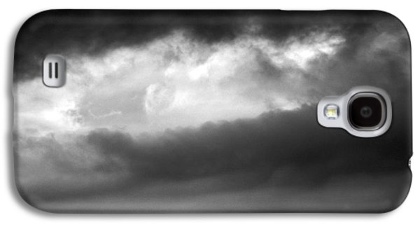Modern Abstract Galaxy S4 Cases - Up In The Clouds #3 Galaxy S4 Case by Robyn King