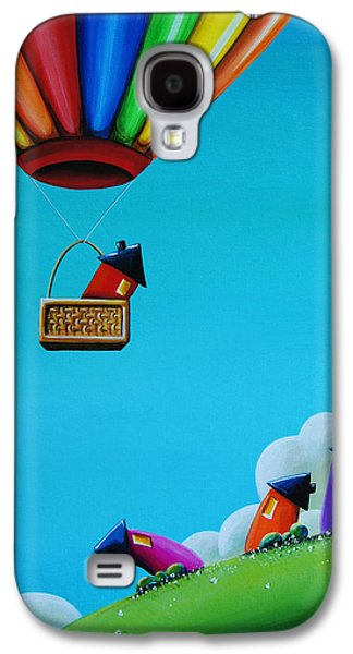 Up Up And Away Galaxy S4 Case by Cindy Thornton