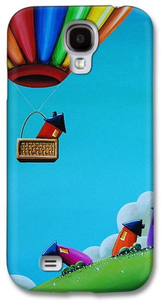 Balloons Galaxy S4 Cases - Up Up and Away Galaxy S4 Case by Cindy Thornton