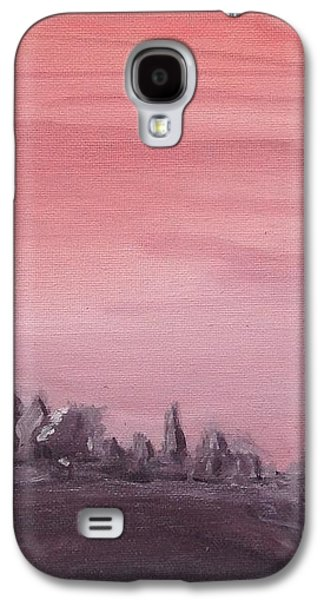 Dreamscape Galaxy S4 Cases - Upcountry Lavender Farm from Poli Galaxy S4 Case by Brittany Star  Ridgell