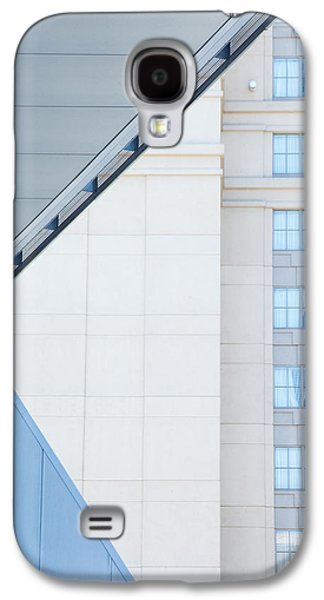 Modern Abstract Galaxy S4 Cases - Urban Building Abstract Galaxy S4 Case by Karol  Livote