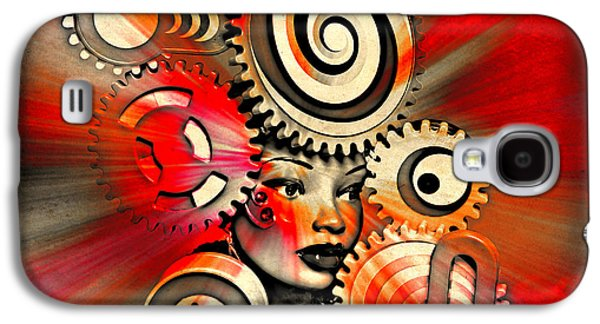 African-american Galaxy S4 Cases - Urban Medusa Galaxy S4 Case by Jeff  Gettis