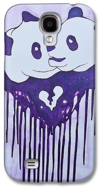 Constellations Paintings Galaxy S4 Cases - Urmygalaxyurmyluv Galaxy S4 Case by Pato Aguilar
