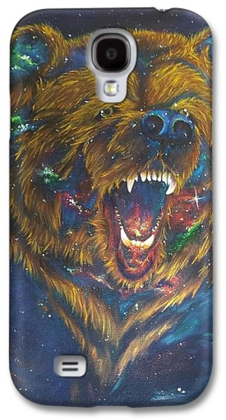 Constellations Paintings Galaxy S4 Cases - Ursa Major Galaxy S4 Case by Kimberly Rasar
