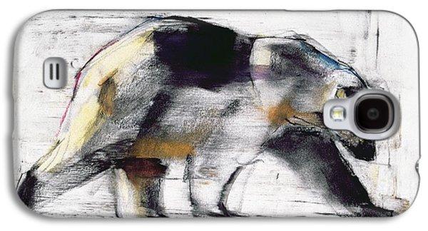Animals Pastels Galaxy S4 Cases - Ursus Maritimus Galaxy S4 Case by Mark Adlington