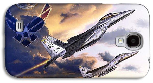 Us Air Force Galaxy S4 Case by Kurt Miller