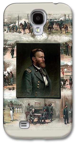 Us Grant's Career In Pictures Galaxy S4 Case by War Is Hell Store
