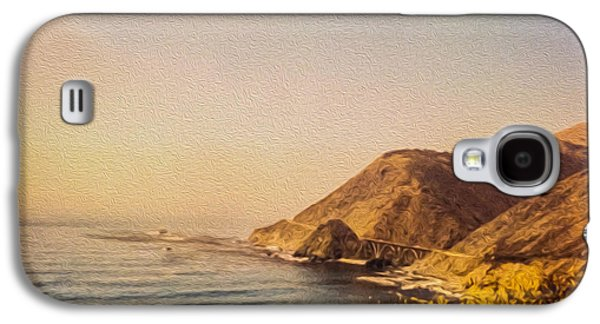 Coast Hwy Ca Galaxy S4 Cases - California Highway One Galaxy S4 Case by Tom Gari Gallery-Three-Photography