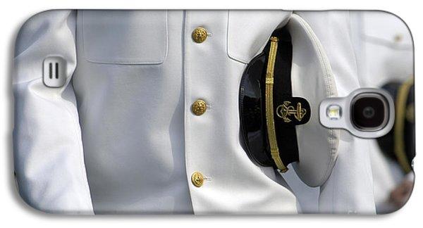 Graduation Galaxy S4 Cases - U.s. Naval Academy Midshipman In Dress Galaxy S4 Case by Stocktrek Images
