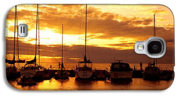 Usa, Wisconsin, Door County, Egg Harbor Galaxy S4 Case by Panoramic Images