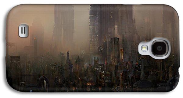 Utherworlds Cohabitations Galaxy S4 Case by Philip Straub