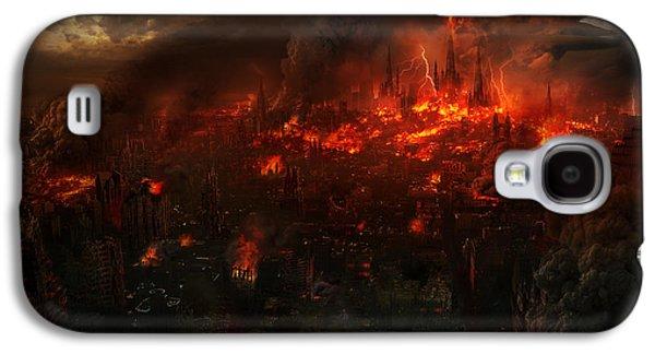Utherworlds Reckoning Day Galaxy S4 Case by Philip Straub