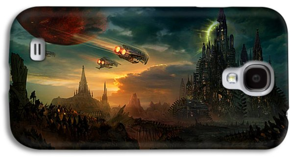 Utherworlds Sosheskaz Falls Galaxy S4 Case by Philip Straub