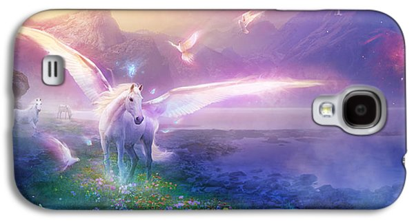 Utherworlds Winter Dawn Galaxy S4 Case by Philip Straub