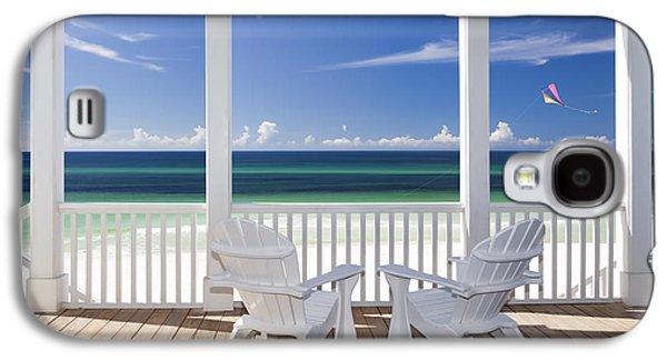 Chair Galaxy S4 Cases - Utopia Galaxy S4 Case by Janet Fikar