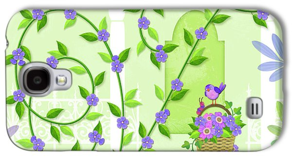 V Is For Vine And Veranda Galaxy S4 Case by Valerie Drake Lesiak