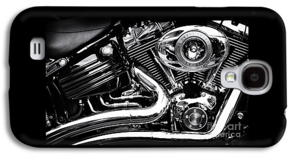 Recently Sold -  - Transportation Photographs Galaxy S4 Cases - V Twin Galaxy S4 Case by Tim Gainey