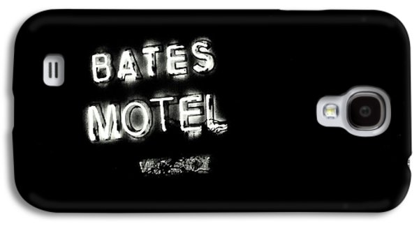 Vacancy At Bates Motel Bw Galaxy S4 Case by Denise Dube