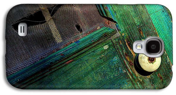 Screen Doors Galaxy S4 Cases - Vacant Memories Galaxy S4 Case by Michael Eingle