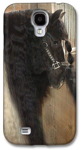 Valentino's Mane Galaxy S4 Case by Fran J Scott