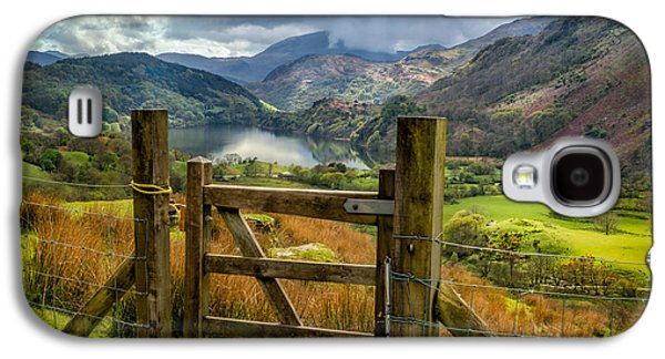 Fence Galaxy S4 Cases - Valley Gate Galaxy S4 Case by Adrian Evans