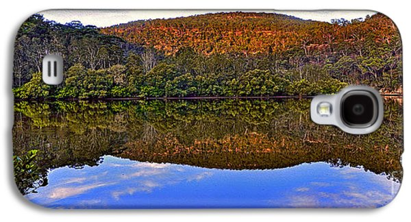 Reflections Of Sky In Water Galaxy S4 Cases - Valley of Peace Galaxy S4 Case by Kaye Menner