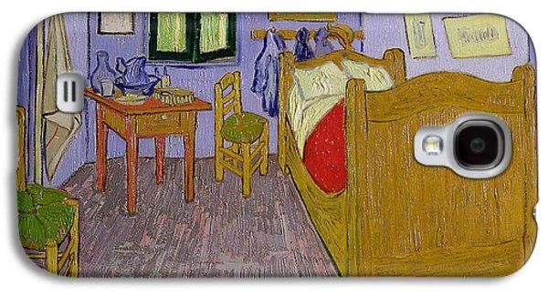 Van Goghs Bedroom At Arles Galaxy S4 Case by Vincent Van Gogh
