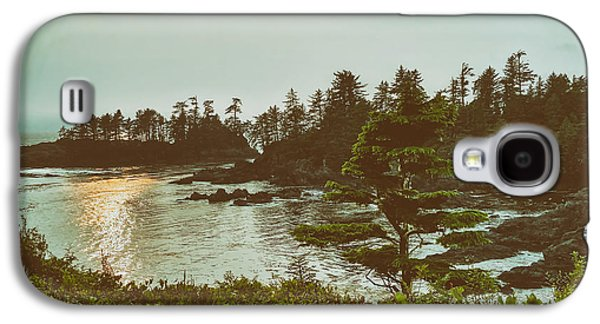 Sun Galaxy S4 Cases - Vancouver Island At Dusk Galaxy S4 Case by Y Yoncee