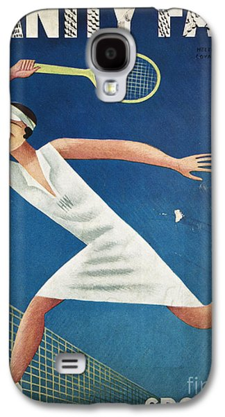 Tennis Photographs Galaxy S4 Cases - Vanity Fair, 1932 Galaxy S4 Case by Granger