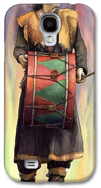 Musician Paintings Galaxy S4 Cases - Varius Coloribus  Abul Galaxy S4 Case by Yuriy  Shevchuk