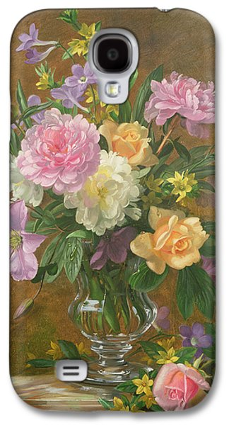 Vase Of Flowers Galaxy S4 Cases - Vase of Flowers Galaxy S4 Case by Albert Williams
