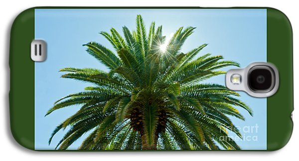 Sun Galaxy S4 Cases - Vegas Palm Galaxy S4 Case by Nick  Boren