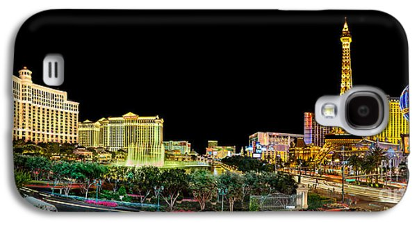 Las Vegas Galaxy S4 Cases - Vegas Splendor  Galaxy S4 Case by Az Jackson
