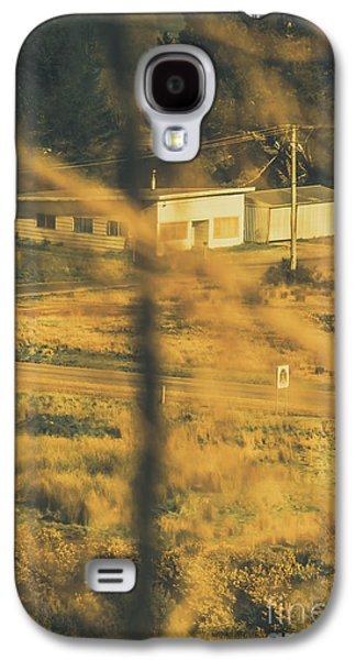 Vegitation View Of Rural Farm Homestead  Galaxy S4 Case by Jorgo Photography - Wall Art Gallery