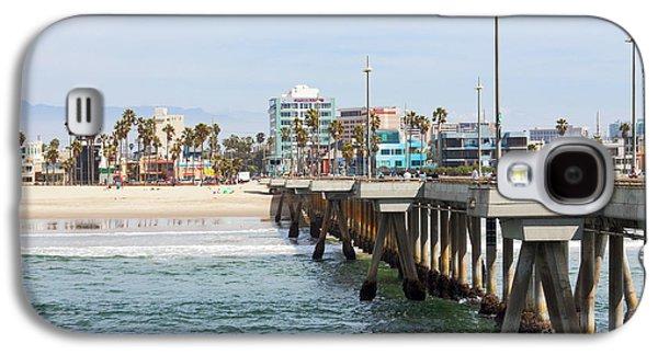 Venice Beach From The Pier Galaxy S4 Case by Ana V Ramirez
