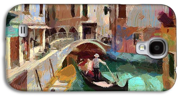 Abstract Nature Galaxy S4 Cases - Venice Canals 03 Galaxy S4 Case by Yury Malkov