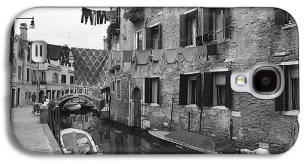 Urban Scenes Galaxy S4 Cases - Venice Galaxy S4 Case by Frank Tschakert
