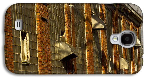 Glass Wall Galaxy S4 Cases - Venting Hot Air The Mary Leila Cotton Mill 1899 Galaxy S4 Case by Reid Callaway