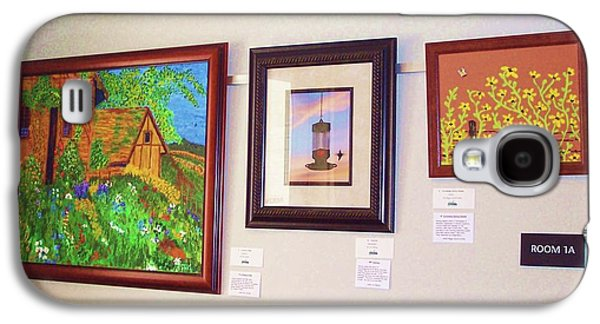 Venue @ Green Hills Library - Art Exhibit Galaxy S4 Case by Peggy Leyva Conley