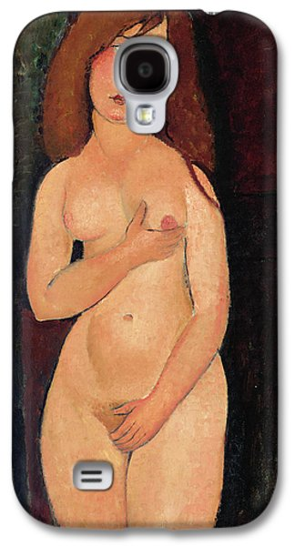 Venus Or Standing Nude Or Nude Medici Galaxy S4 Case by Amedeo Modigliani