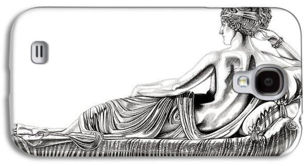 European Sculptures Galaxy S4 Cases - Venus Victorious _ V1 Galaxy S4 Case by Bruce Algra
